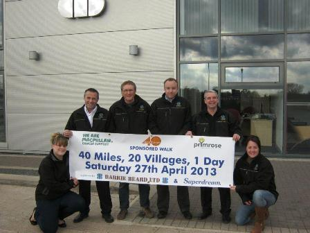 bb-employees-take-part-40-mile-charity-walk-primrose-hospice-macmillan-cancer-support
